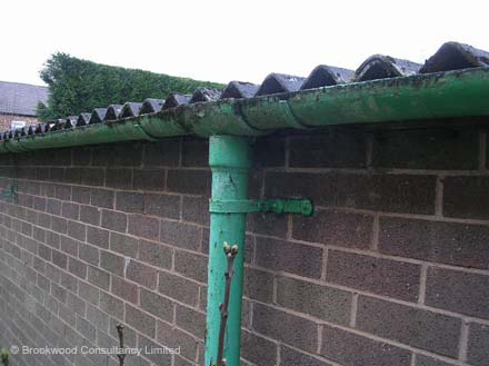 Asbestos Cement Gutters And Downpipes
