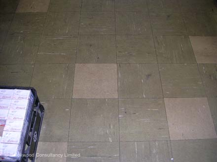 Asbestos Containing Vinyl Floor Tiles 3