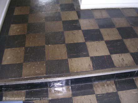 Asbestos Vinyl Floor Tiles